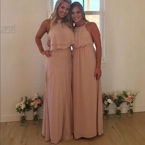 Show Me Your Mumu Dresses Amanda Maxi Dress Dusty Blush Poshmark